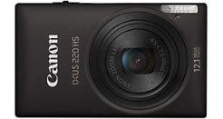 Canon IXUS 220 Black £129.99 – 1080p Slim Compact Camera