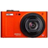 pentax optio rz18 orange Pentax Optio RZ18 Digital Camera   Orange or Black 18x Zoom £129.99