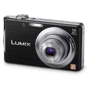 panasonic fs18 Panasonic Lumix DMC FS18 Digital Camera   Black, 16 Megapixel, 4x Optical Zoom £79.99