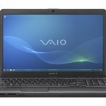 Sony Vaio EH2F1E 15.5 inch Laptop (Intel i3 2.2GHz, RAM 4GB, Windows 7 Home Premium 64-bit) Hard Drive Capacity 320GB- Black
