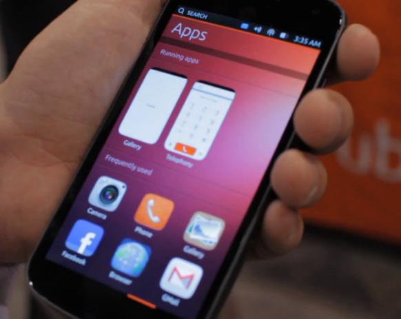 Ubuntu Phone OS Video Demo CES 2013