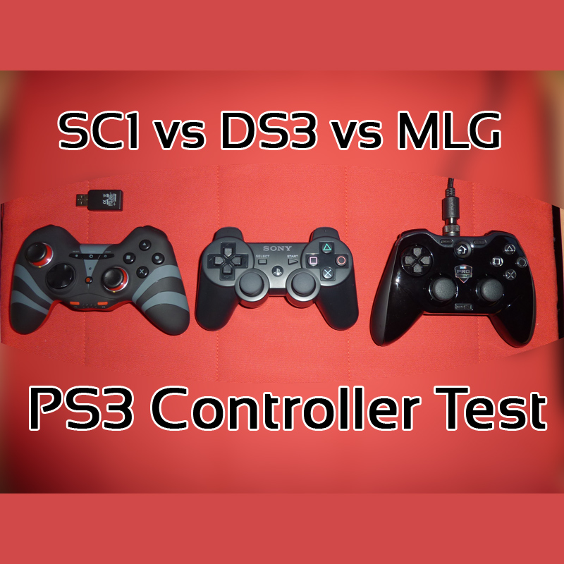 sc1 vs dual shock 3 vs mlg controller