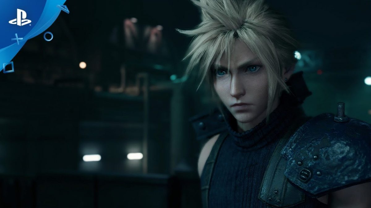 Cloud from Final Fantasy 7 Remake Demo